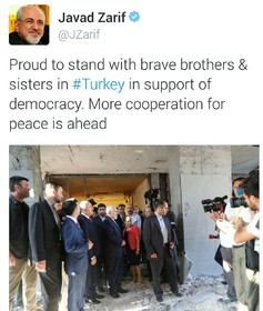 Zarif: More cooperation for peace is ahead