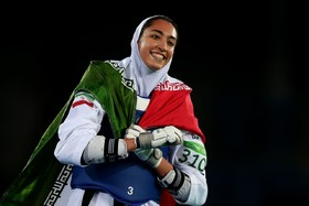 Kimia Alizadeh to carry the flag Team Iran in 2018 Asian Games