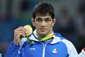Iran's Hassan Yazdani wins gold medal at World Wrestling Championships