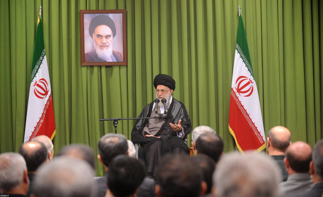 Iran's Leader urges confronting enemy schemes in cyberspace