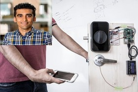 Send passwords through your body instead of Wi-Fi by help of Iranian mind
