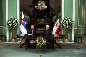 Rouhani says no limitation for Iran,Finland cooperation