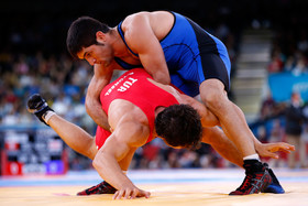 Iran finishes with 3 bronze medals in opening day of Greco-Roman World Championships