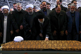 Funeral ceremony for late Iranian president Ayatollah Rafsanjani