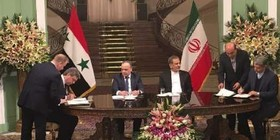 Iran, Syria sign 5 documents on cooperation