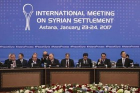 Joint statement by Iran, Russia, Turkey on Astana meeting over Syria