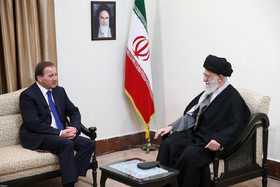 Iranian Supreme leader meets Swedish PM