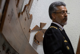 Rear Admiral Sayyari meets European, other countries commanders in Italy
