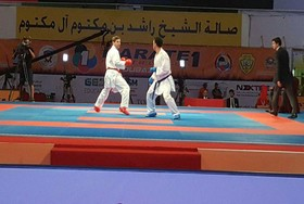 Iran stands on first place in Karate 1 Premier League