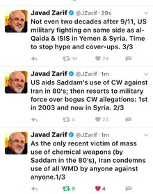 Zarif: time to stop hype and cover-ups
