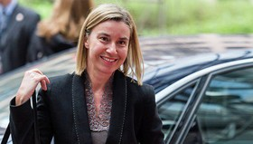 EU's Mogherini to attend Rouhani's inauguration