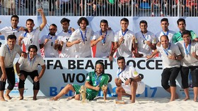 Iran beach soccer becomes second in world rankings