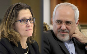 Iran, Canada FMs hold phone call