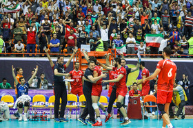 Iranian volleyball team wins first ever world medal