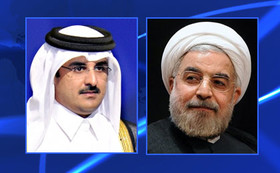 Rouhani sends message to Qatari Emir