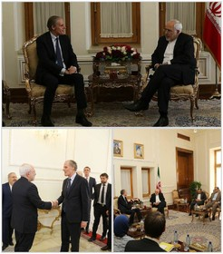 Zarif meets French foreign ministry Secretary-General in Tehran