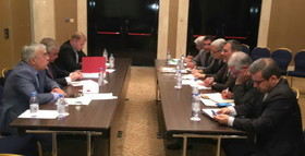 Iranian official meets UN envoy for Syria, Russian, Turkish diplomats in Astana