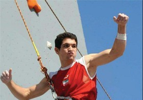 Iran's Alipour wins championship at Villars Climbing World Cup