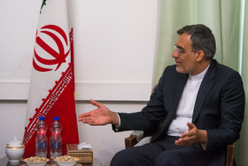 Iran's Jaberi Ansari meets France's special envoy for Syria