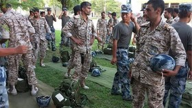 Iran's IRGC forces start rehearsals for Army Games 2017 in China