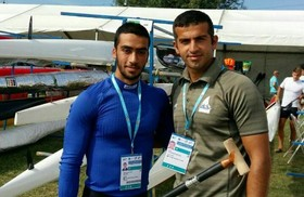 The first-ever Iranian canoeing medal at the World Championship