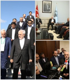 Zarif arrives in Turkey