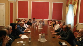 Further steps in parliamentary cooperation between Tehran, Yerevan