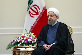President Rouhani meets foreign dignitaries after inauguration