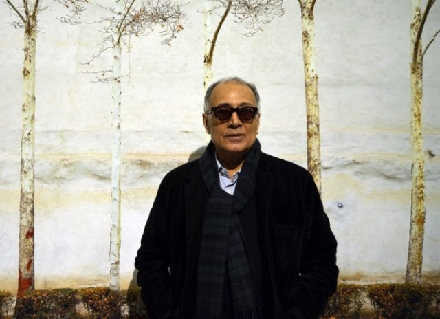 77th international award for Abbas Kiarostami in his 77th birthday