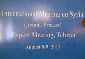 Expert meeting on Astana Syria talks holds in Tehran