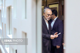 AEOI chief Salehi arrives in Vienna
