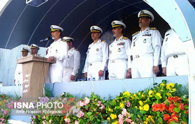 47th fleet of Iranian Navy berths at Bandar Abbas