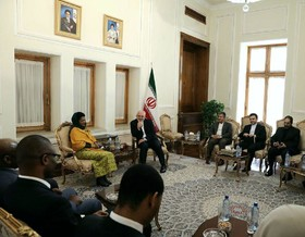 Iranian FM, South African Speaker meet in Tehran
