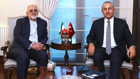 Iranian, Turkish FMs hold phone call