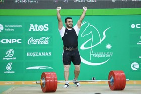 Iranian weightlifter Moradi breaks 18-year old world record