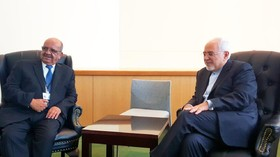 Zarif meets Algerian, Indonesian FMs in New York