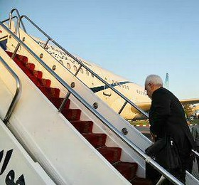 Iran FM departs for South Africa