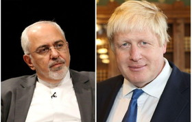 Iranian, British FMs discuss nuclear deal
