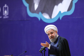 No one can talk about Iran's military power: Rouhani