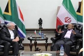 Iranian FM meets with South African President