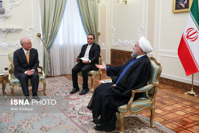 We are committed to JCPOA until we benefit from it: Rouhani