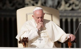 Pope Francis sends 100,000 euros for flood relief in Iran