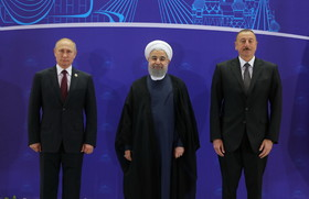 Iran, Russia, Azerbaijan sign joint statement