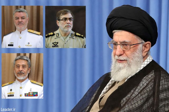 3 new appointments in Iranian Army