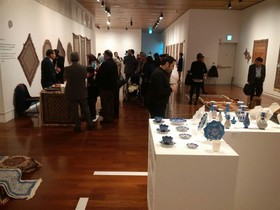 Iranian handicrafts exhibition opened in Seoul