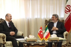 Iranian, Turkish interior ministers meet in Tehran
