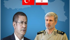 Iranian, Turkish defense ministers hold phone conversation