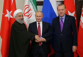 Turkish, Russian, Iranian presidents to hold summit on Syria in April