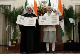 Tehran, New Delhi sign 15 pacts