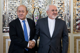 French FM's visit to Iran